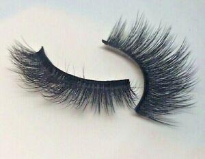 False Eyelashes Faux Mink Vegan Fluffy Wispy Supersoft Silk Lashes Reusable UK