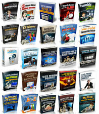 100 Make Money Cash Online Affiliate Marketing eBooks With Master Resell Rights