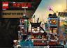 ~~LEGO NINJAGO MOVIE 70657 NINJAGO CITY DOCKS - INSTRUCTION MANUAL ONLY