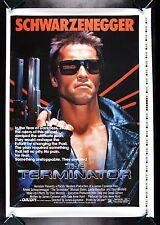 THE TERMINATOR 1984 * CineMasterpieces HALF SUBWAY PRINTER'S PROOF MOVIE POSTER