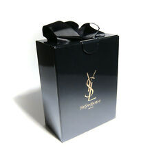 "YSL Yves Saint Laurent Empty Gift Box 8"" x 6"" x 3.5"" - Black"