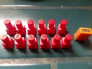 JUKEBOX  WURLITZER  41 W41 COUNTERTOP SELECTION BUTTONS PUSHBUTTONS