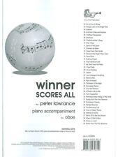 Winner Scores All For Oboe - Piano Accompaniment