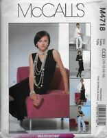 McCall's Sewing Pattern M4718 Misses' JACKET, SKIRT, PANTS & TOP sz 10,12,14,16
