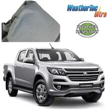 Car Cover Fits Holden Colorado Dual-Cab Ute to 5.56m WeatherTec Soft Non Scratch