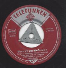 Gitta Lind und die Telestars 1956 :  Weisser Holunder