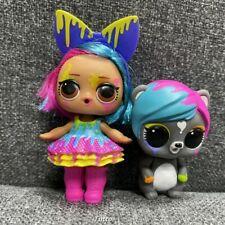 Lol Surprise Splatters Doll & Eau De Pets Color Change Makeover Series Doll