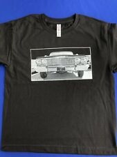 Chevy Lowrider Impala 63 front grill Silk Screen - Kids T-Shirts