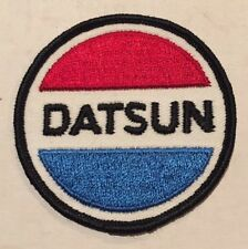 Vintage Datsun NOS Patch Nissan Skyline GTR Sports Race Car Hot Rat Rod 80s 70s