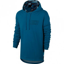 Nike Men's Sportswear Hoodie Pullover Sweater Long Shirt Blue 3XL 833873-457