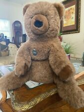 "Vintage Gund Collector's Classic 21""Brown Teddy Bear Plush Stuffed Animal Toy"