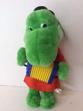 Gena Crocodile 13in Plush Accordion Russian Cartoon Character Cheburashka RARE