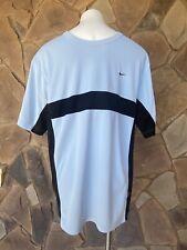 Men's Light Blue Under Armour Dri-Fit Uv Shirt Size Xl