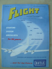 FLIGHT AND AIRCRAFT ENGINEER FEBRUARY 15th 1957 ROTAX STARTING SYSTEMS