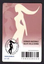 Italia 2016 - Salute della Donna - tessera filatelica a tiratura limitata