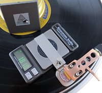 Riverstone Audio Record-Level Turntable Stylus Tracking Force Gauge Graphite