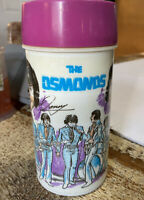 Vintage 1973 Aladdin THE OSMONDS Metal Lunch Box Thermos only