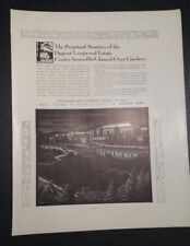 1931 Hitchings & Co. Advertisement Elizabeth NJ Glassed Over Gardens Longwood