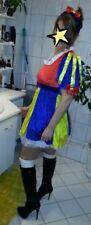 Sexy Schneewittchen Kostüm für Damen Prinzessin Märchen Kleid Fasching Gr. L