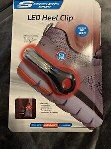 LED Safety Light Armband And Heel Clip NWT
