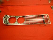 Used 68 Ford Galaxie 500 Custom 500 Ranch Wagon RH Radiator Grille #C8AZ-8150-A
