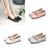 Womens Sweet Cute Girl Casual Floral Ballet Flats Pumps Flat Comfy Loafers Shoes