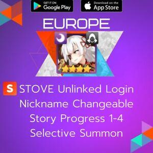 [Europe] Blood Blade Karin   Epic Seven Epic 7 Name Change ML Starter Account