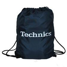 Technics / DMC Wax Sac - Gym Style sac - Vinyle sac - Navy Blue (TWN1) NEUF
