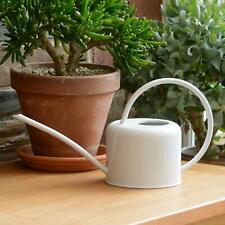 More details for indoor chalk coloured watering can metal galvanised steel 1.1l narrow spout uk