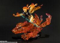 Naruto Shippuden Figuarts Zero UZUMAKI KURAMA KITSUNA RELATION PVC Figure No Box