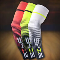 1 Pair Unisex Outdoor Sport Cooling Arm Sleeves Cover Wrap UV Sun Protection Hot