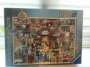 ravensburger 1000 piece jigsaw puzzles The Bizarre Bookshop. No.2
