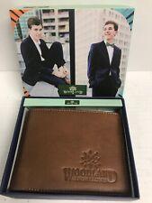 Woodland Genuine Leather Wallet Billfold Includes Coin Pocket
