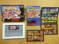 Super Nintendo Street Fighter II Turbo estados unidos NTSC-u SNES SNS-ti-estados unidos Capcom 1993