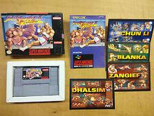 Super Nintendo Street Fighter II Turbo USA NTSC-U snes SNS-TI-USA Capcom 1993