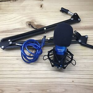 Neewer NW-7000 USB Professional Studio Condenser Microphone & Arm Stand UNTESTED