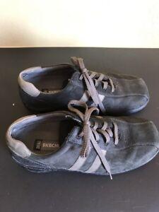 Skechers Critics Men's Size 10 Casual Shoes (SN 60043) Two-tone Grey Gray
