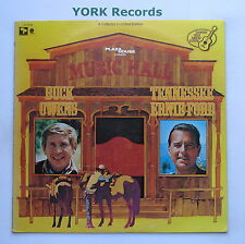 BUCK OWENS / TENNESSEE ERNIE FORD - Music Hall - Ex Con LP Record SM SL-6720