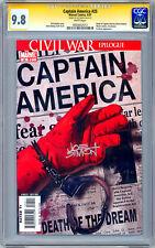 CAPTAIN AMERICA #25 CGC-SS 9.8 *SIGNED JOE SIMON* CREATOR OF CAPT AMERICA 2007