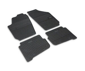 Gummimatten Gummi Fußmatten für Seat Ibiza 3 III 6L1 2002-2008 Premium Qualität