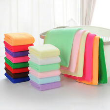 2PCS Fiber Cotton Candy Practical Luxury Soft Face/Hand Cloth Towel 25x25cm