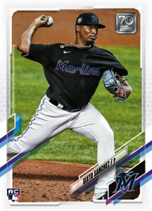 2021 Topps MLB Digital NFT Series 1 Sixto Sanchez Minted 2460/2657 RC Rookie