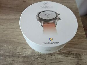 New Sleek Design: The Moto 360 smartwatch  Brand new sealed in box!