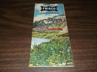 NOVEMBER 1960 SLSF FRISCO CONDENSED SYSTEM PUBLIC TIMETABLE
