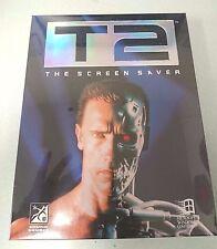 NEW Sealed Retro 1997 WINDOWS 3.1 Software - T2 THE SCREEN SAVER - Terminator 2