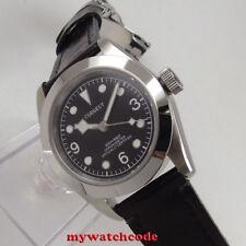 41mm corgeut black dial Sapphire glass miyota 8215 Automatic mens Watch C104