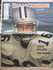 """"""" NFL Dallas Cowboys Official Weekly Magazine August, 10, 1985; Vol. 11, No.8"""