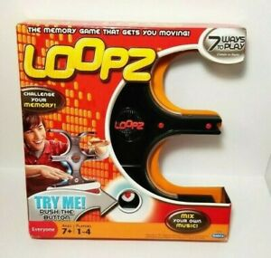 Loopz Mattel Electronic Music Memory Game Family Fun Kids Toy New