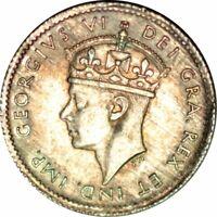 1942-C NEWFOUNDLAND 10 CENTS- VERY NICE HIGH GRADE CIRC COLLECTOR COIN!-d1118ux