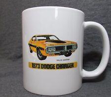 1973 Dodge Charger Rallye Hardtop Coffee Cup, Mug - New - Classic 1970's Mopar